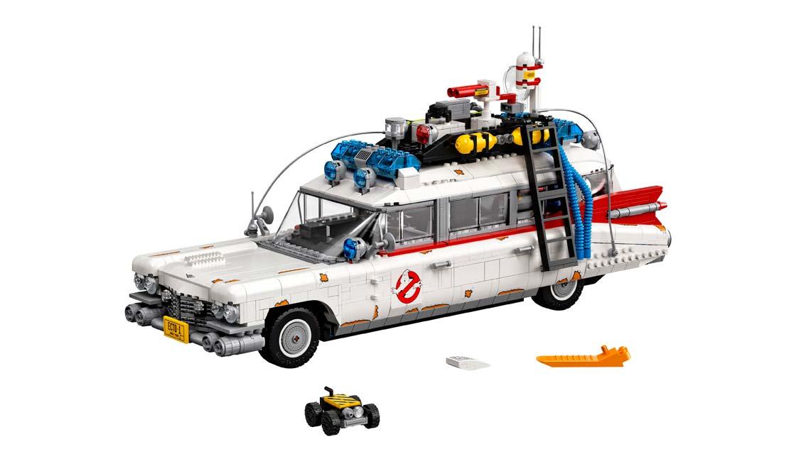 NUEVO LEGO ECTO-1 DE LOS CAZAFANTASMAS
