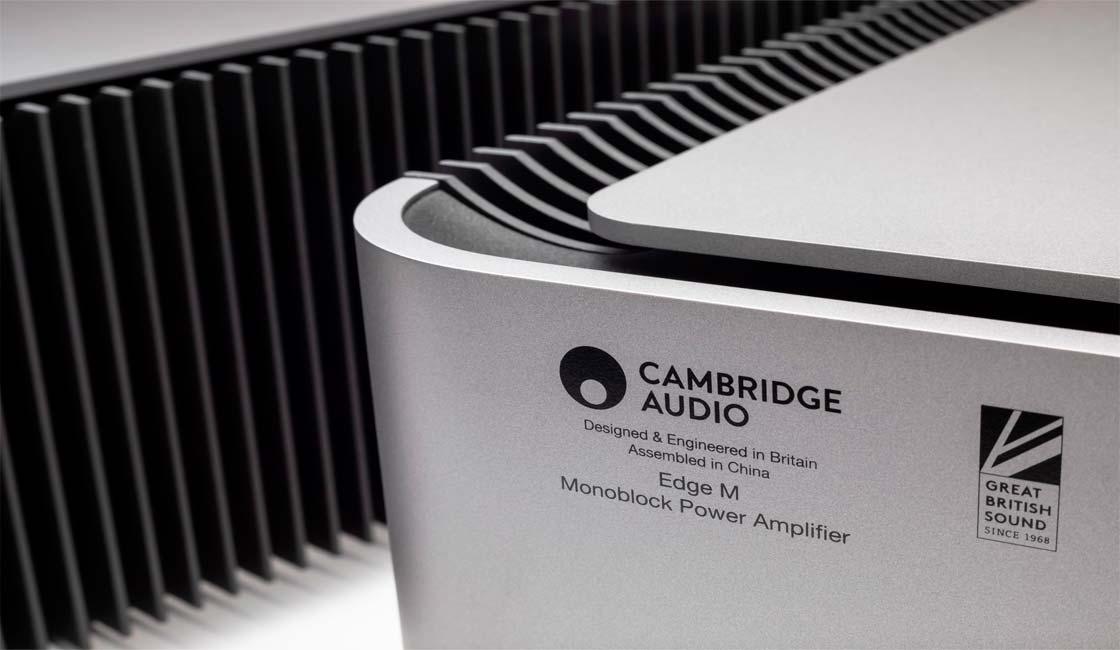 CAMBRIDGE AUDIO PRESENTA SU NUEVO AMPLIFICADOR DE POTENCIA EDGE M