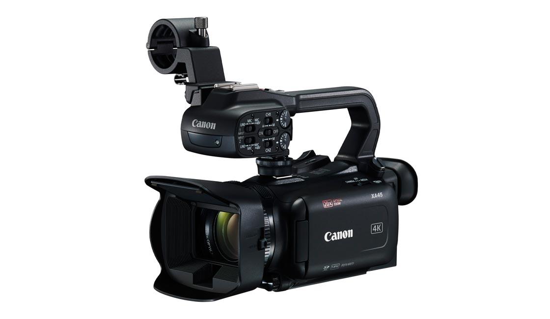 VIDEOCÁMARA COMPACTA 4K CANON XA45