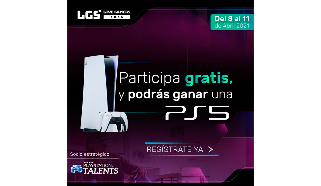 LIVE GAMERS SHOW APOYA A LOS NUEVOS PROFESIONALES DE ESPORTS EN EL MUNDO DE LA COMPETICIÓN