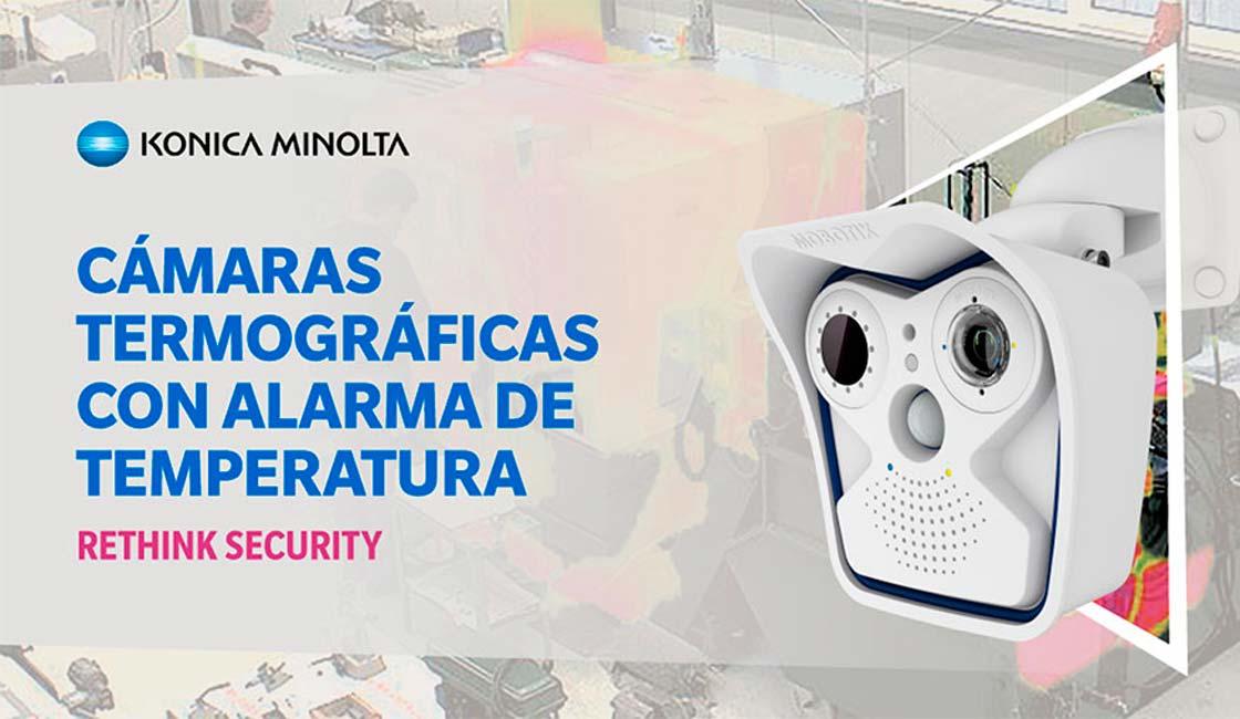 KONICA MINOLTA PROPORCIONA SOLUCIONES DE VIDEO INTELIGENTE PARA PROTEGER LAS INSTALACIONES