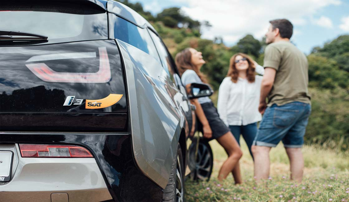 EL COCHE ELÉCTRICO BMW I3 LLEGA A SIXT+