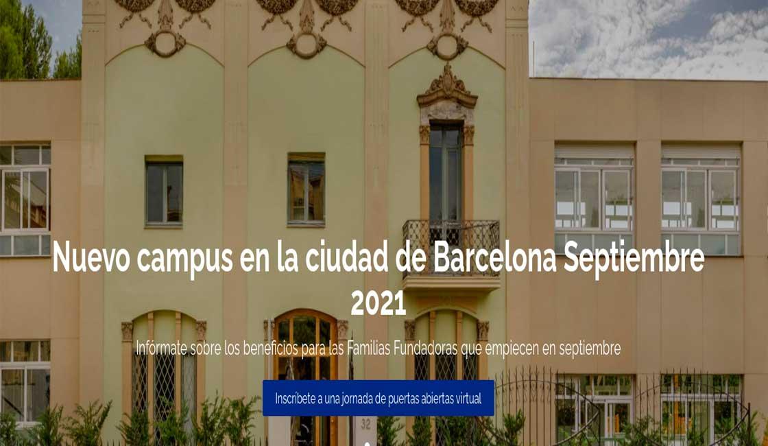 THE BRITISH SCHOOL OF BARCELONA INAUGURA EL CURSO ESCOLAR CON UN NUEVO CAMPUS EN BARCELONA
